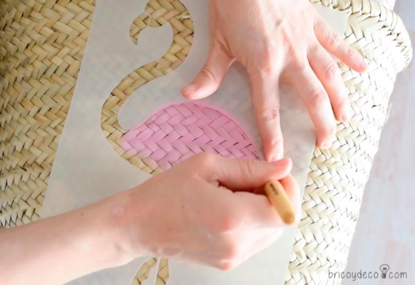 04-capazo-personalizado-stencil-materiales-plantilla