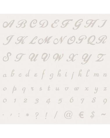 Stencil Abecedario 001