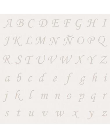 Stencil Abecedario 004