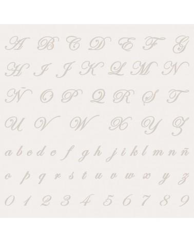 Stencil Abecedario 005