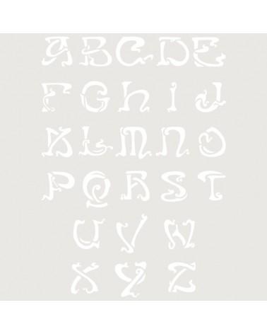 Stencil Abecedario 029