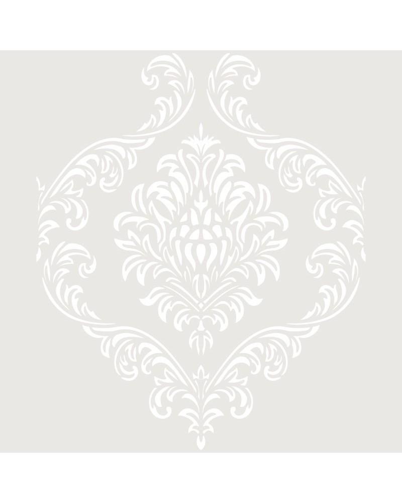 Stencil Adamascado 073 Mandala