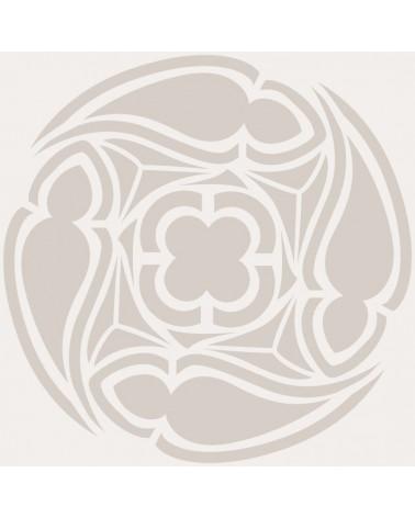 Stencil Adamascado 074 Mandala
