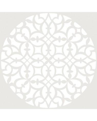 Stencil Adamascado 075 Mandala
