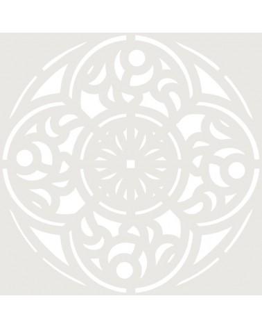 Stencil Adamascado 082 Mandala