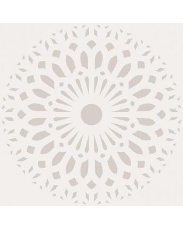 Stencil Adamascado 083 Mandala