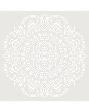 Stencil Adamascado 090 Mandala
