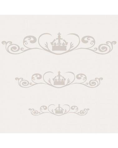 Stencil Cenefa 019 Corona 2 Tamaños