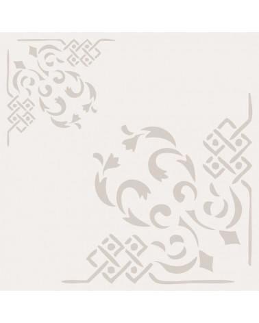 Stencil Cenefa 025 Esquina Dos Tamaños