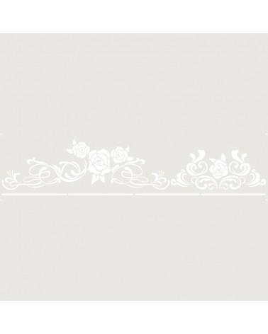 Stencil Cenefa 043 Cuatro Rosas