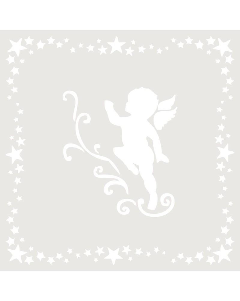 Stencil Composicion 002 Angel