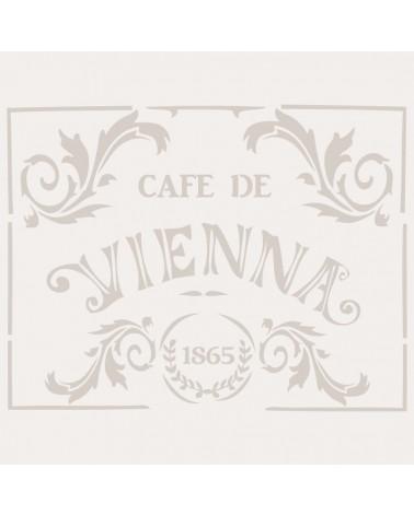 Stencil Composicion 010 Cafe Vienna