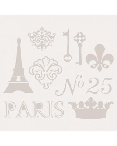 Stencil Composicion 016 Paris 25
