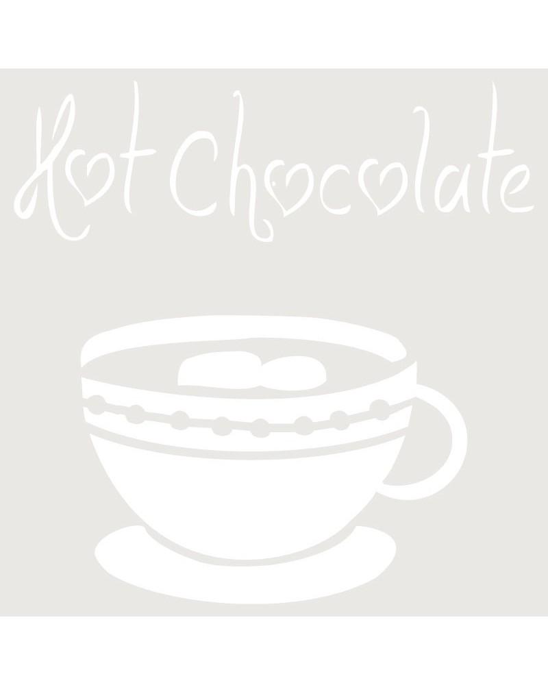 Stencil Composicion 029 Hot Chocolate