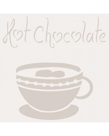 Stencil Composicion 029 Hot Chocolate