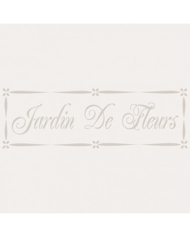 Stencil Composicion 032 Jardin Fleurs