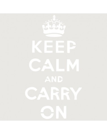 Stencil Composicion 034 Keep Calm