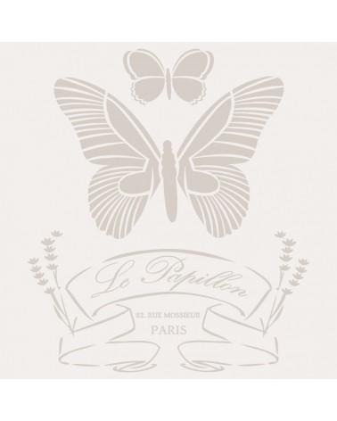 Stencil Composicion 039 Papillon