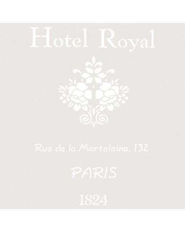 Stencil Composicion 048 Hotel Royal