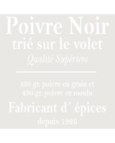 Stencil Composicion 052 Poivre Noir
