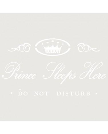 Stencil Composicion 057 Prince Sleeps