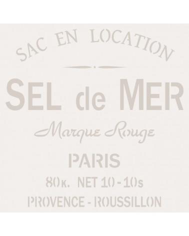 Stencil Composicion 069 Sel De Mer