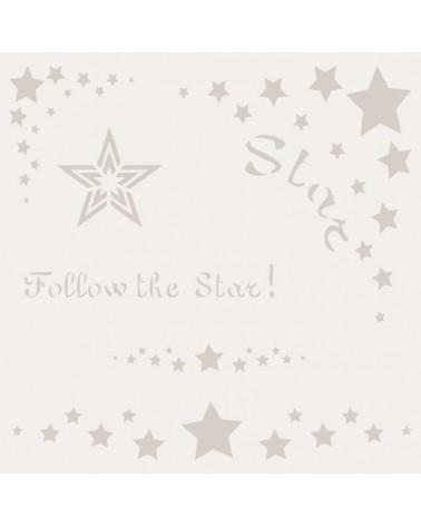 Stencil Composicion 073 Star