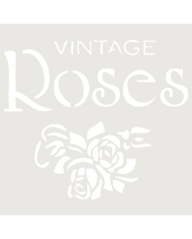 Stencil Composicion 075 Roses