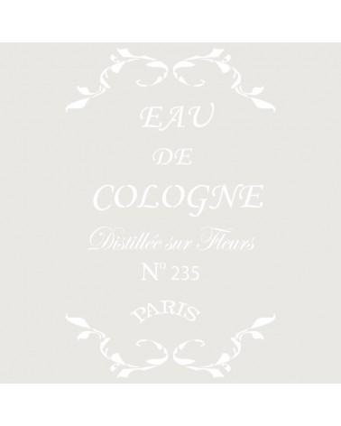 Stencil Composicion 076 Eau De Cologne