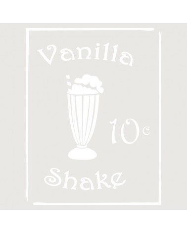 Stencil Composicion 078 Vainilla Shake