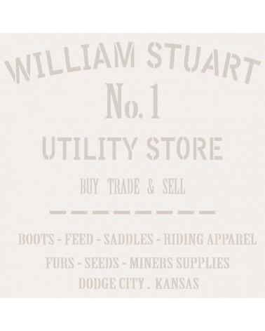 Stencil Composicion 080 Williams Stuart