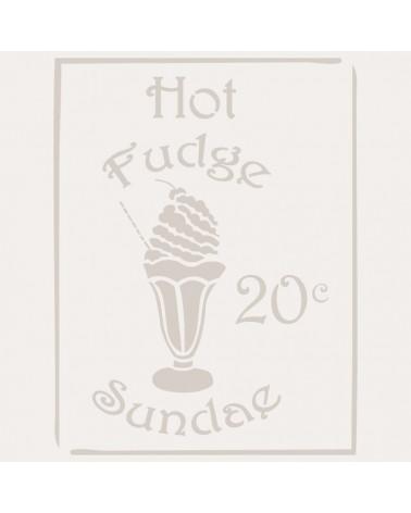 Stencil Composicion 082 Hot Fudge