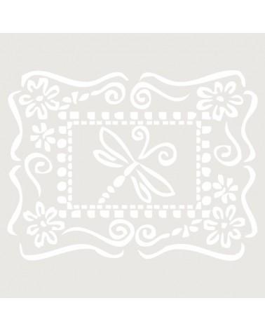 Stencil Composicion 088 Libelula