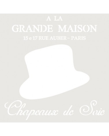 Stencil Composicion 089 Chapeaux