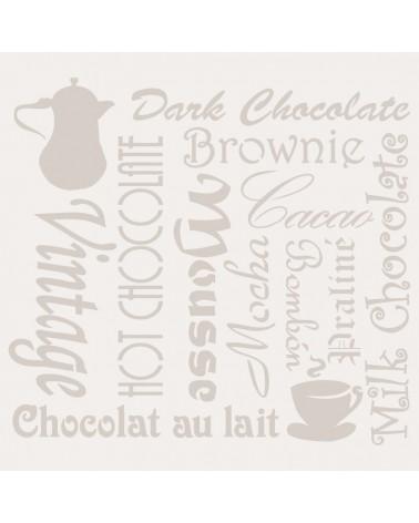 Stencil Composicion 093 Chocolate