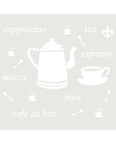Stencil Composicion 102 Capuchino