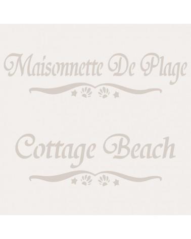 Stencil Composicion 107 Maisonnette