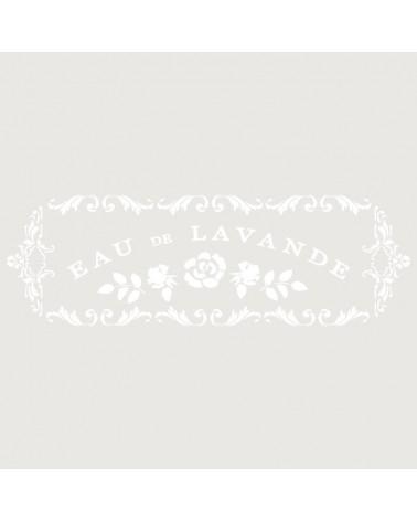 Stencil Composicion 109 Eau De Lavande