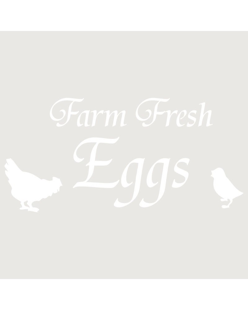 Stencil Composicion 110 Farm Fresh Eggs