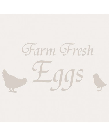 Stencil Composicion 110 Farm Fresh Eggs