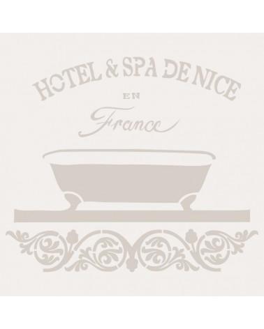 Stencil Composicion 114 Hotel Spa
