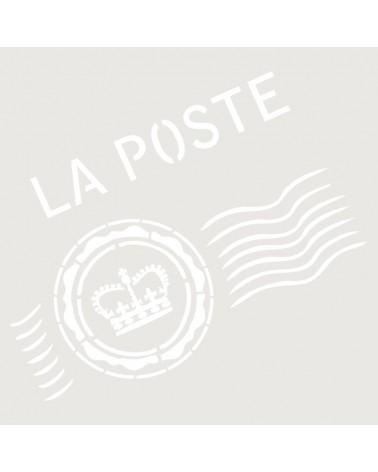 Stencil Composicion 119 La Poste