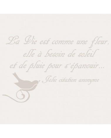 Stencil Composicion 121 La Vie