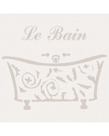 Stencil Composicion 123 Bain