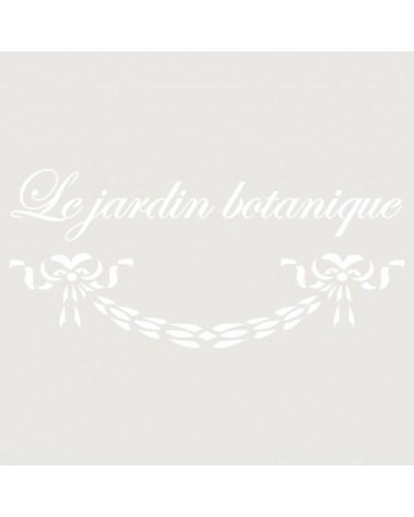 Stencil Composicion 124 Le Jardin Botanique