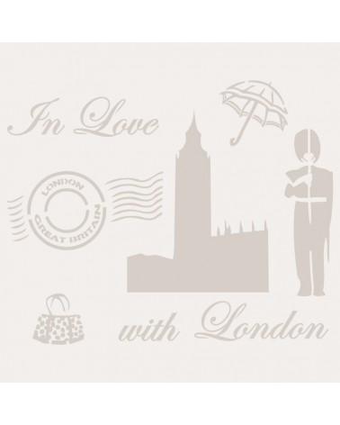 Stencil Composicion 125 London