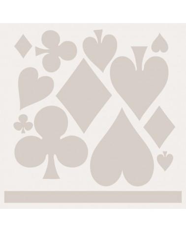 Stencil Composicion 131 Baraja Poker