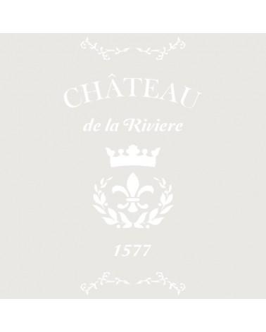 Stencil Composicion 135 Chateau