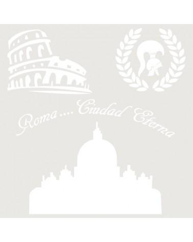 Stencil Composicion 137 Roma
