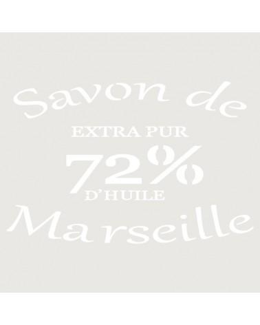 Stencil Composicion 139 Savon Marselle